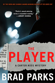 Book Review:  THE PLAYER by Brad Parks