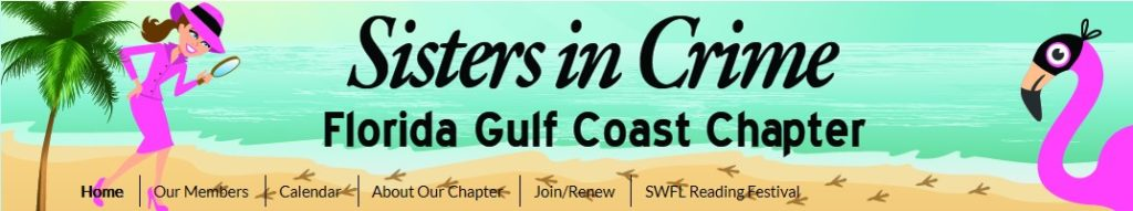 Show logo of Sisters in Crime Florida Gulf Coast Chapter.