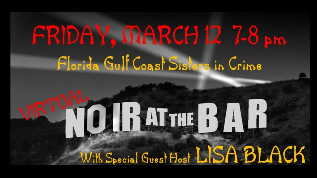 Save the date for Noir at the Bar, a main stage event at the Southwest Florida Reading Festival.